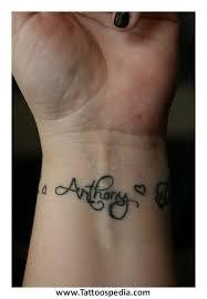 wrist tattoos names designs 1