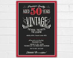 wording for 50th birthday invitations free printable invitation