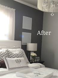 Black And White And Grey Bedroom Grey Bedroom The Color On The Walls The Light Valspar Seashell