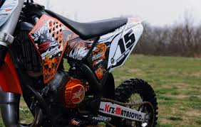 motocross racing tips custom graphics on ktm ktm graphics custom dirtbike mx