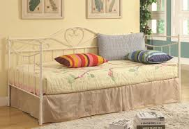 daybed white metal daybed intrigue stunning white metal daybed