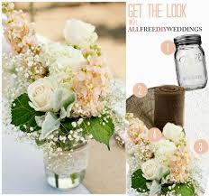 Home Made Wedding Decorations Homemade Mason Jars Wedding Centerpieces Wedding Party Decoration