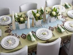 dinner table decoration ideas dinner table setting ideas slucasdesigns