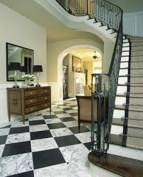 two of my favs winding stair cases and black and white marble