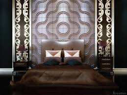 Wallpaper Designs For Walls by Luxury And Futuristic Bedroom Design Ideas With 3d Wallpaper Dark