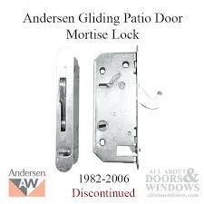 Andersen Patio Door Hardware Replacement Andersen Patio Door Lock U2013 Vecinosdepaz Com
