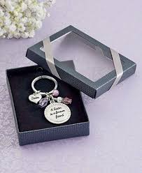 box keychain sentiment key chain in gift box the lakeside collection