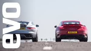 how fast is a porsche 911 turbo jaguar f type r awd vs porsche 911 turbo s which is fastest