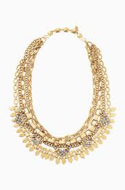gold necklace statement images Layered chain gold statement necklace sutton necklace stella dot jpg