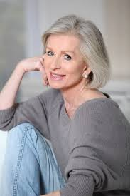 short hairstyles for seniors with grey hair short hairstyles for gray hair