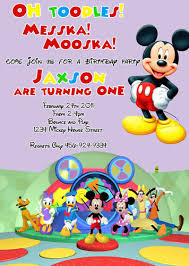 oh toodles disney mickey minnie mouse clubhouse custom birthday