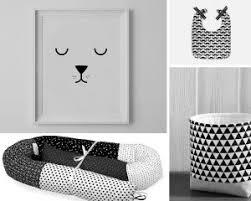 chambre bebe noir 10 idées de chambres en noir et blanc pour bébé