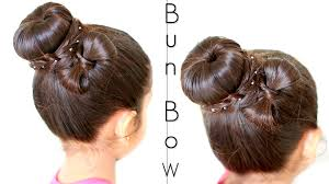 hairstyles with a hair donut easy donut bun updo with a bow hairstyle shrutiarjunanand youtube
