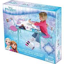 frozen erasable activity table disney frozen erasable activity table set ebay