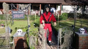 spirit halloween myrtle beach sc michael jackson thriller inspired halloween house attracts moncks