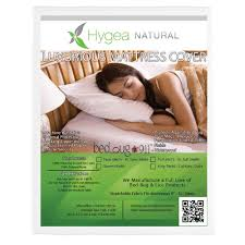 Sheet That Covers Mattress by Bed Bug 911 Hygea Natural Bed Bug Mattress Cover Or Box Spring
