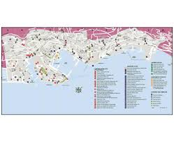 Monte Carlo Map Maps Of Monaco Detailed Map Of Monaco In English Tourist Map