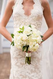 simple wedding bouquets all white wedding bouquets brides