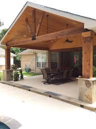 Covered Patio Ideas Best 25 Patio Roof Ideas On Pinterest Outdoor Pergola Backyard