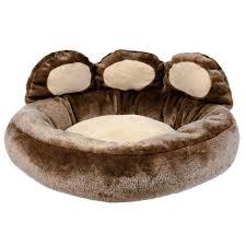 Igloo Dog Bed Donatello Paw Dog Bed