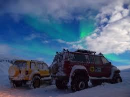 northern lights super jeep tour iceland superjeep to the legendary landmannalaugar the northern lights