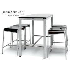 table de cuisine haute avec tabouret table bar avec tabouret meuble cuisine table haute table haute