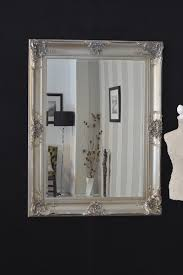 Big Wall Mirrors by Accessories Fetching Living Room Decoration Using Square Elegant