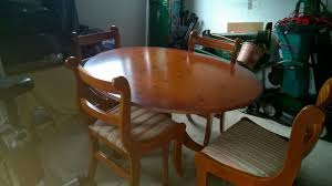 Yew Dining Room Furniture Yew Dining Table And Chairs Yew Oval Dining Table And 4 Matching