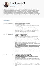 Sample Resume Of Interior Designer by Visual Merchandiser Resume Samples Visualcv Resume Samples Database