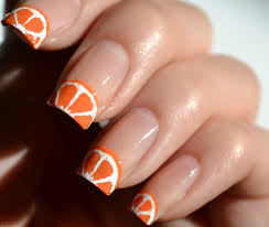 orange color nail artcolornailsart 25 best ideas about orange