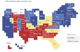 cartogram map map of the week map of the week election cartograms