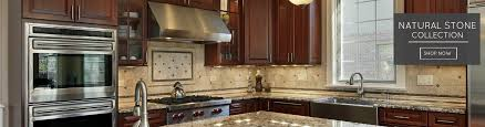 Kitchen With Mosaic Backsplash by The Best Glass Tile Online Store Discount Kitchen Backsplash
