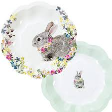 rabbit party supplies truly bunny rabbit themed party supplies party ark