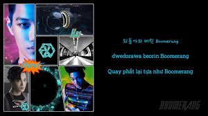 han rom vietsub boomerang exo color coded lyrics