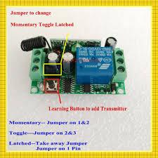 garage door opener circuit aliexpress com buy dc12v door access remote control switch