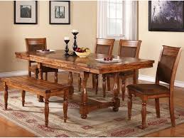 winners only grand estate 6 piece table u0026 chair set with bench