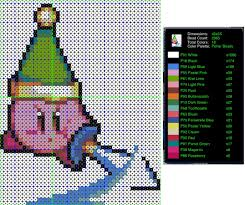 fresh perler bead pattern generator 17 with additional decoration