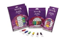 reeves oil colour sets high quality colours for traditional oil
