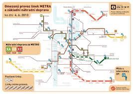 Prague Metro Map by Prague Public Trafic For The Flood 2013 U2013 Prague Blog