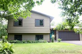 Simple Curb Appeal - boost your curb appeal this summer welcome to the woods
