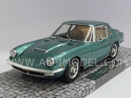 maserati metallic minichamps maserati mistral 1963 green metallic high end resin
