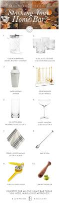 tools to register for wedding your bar with the essentials you need to make a delicious