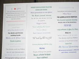 blank wedding program templates my trifold i weddingbee photo gallery
