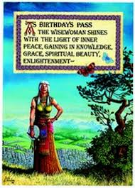 pagan and new age birthday cards for adults and children