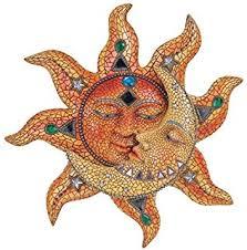 amazon com george s chen imports cracked mosaic crescent moon