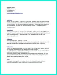 Delivery Driver Resume Example by Cdl Truck Driver Cover Letter