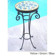 Iron Accent Table Best Scheme Collection In Mosaic Accent Table Handmade Mosaic And