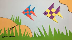 how to make an origami cute fish paper fish paper folding craft