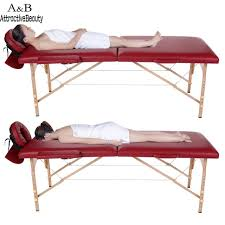 Folding Bed Table Homdox Professional Portable Spa Massage Tables Foldable With
