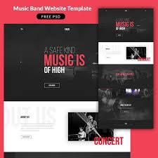 best 25 music website templates ideas on pinterest http header